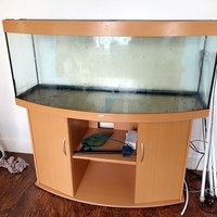 Juwel Vision 450 Aquarium in Beech, Stand, Air Pump & Accessories Reduced for quick sale £325