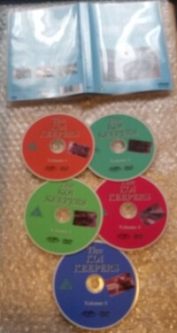 The Koi Keepers Volumes 1,2,3,4,5 DVD